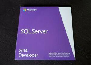 Microsoft SQL Server 2014 Standard E32-01098 BRAND NEW SEALED