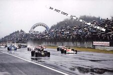 9x6 Photograph, Hunt  & Andretti  START , Japanese GP  Fuji 1976