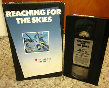 REACHING FOR SKIES aviation VICTORY OVER SEA war documentary WW2 Bismarck VHS