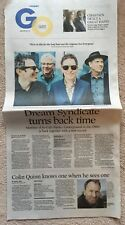 Dream Syndicate So-Cal Paisley Underground newspaper clip Jan 2018 - Colin Quinn