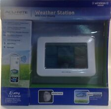 AcuRite 02038W Color Weather Station with Display Wireless Sensor In Box