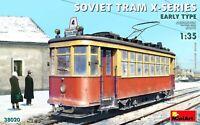 Miniart 1:35 Soviet Tram X-Series Early Type Model Kit