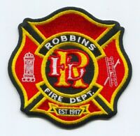 Robbins Fire Department Patch Illinois IL v2