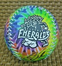 2015 Tie Dye Sasquatch Souvenir Baseball Eugene Emeralds NWL W/ Autos Cubs farm