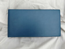 LARGE BLUE ISLE OF MAN 2-RING COVER ALBUM WITH 15 PAGES (SA4a)