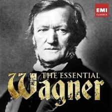 TENNSTEDT/JANSONS/HAITINK/+ - THE ESSENTIAL WAGNER  2 CD  RICHARD WAGNER  NEU