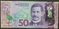 New Zealand Fifty Dollars Banknote