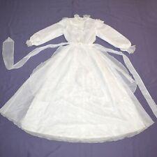 Tüll-rüschen at Children Dress 140 Flower Girl Communion Gala Dress