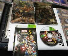 MARVEL VS CAPCOM 3 FATE OF TWO WORLD STEELBOOK LIMITED xbox360