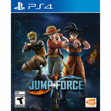 JUMP FORCE PS4 NEW! DRAGONBALL Z, NARUTO, ONE PIECE, FIGHT, COMBAT FIGHTER 0
