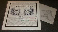 ANDREW LILES-ANAL AURA GRAM-2009 BLUE/BLACK VINYL LP+7-300 ONLY-NWW-NEW*