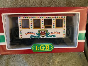 L G B CIRCUS TRAIN CAR 3036 MINT IN BOX