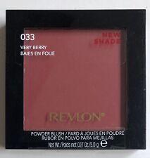 (1) Revlon Powder Blush, 033 Very Berry