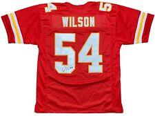 Damien Wilson autographed signed jersey NFL Kansas City Chiefs PSA COA
