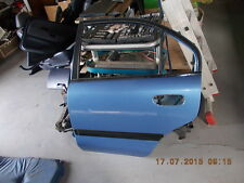 Tür hinten links  Mitsubishi Carisma Stufenheck  ab 1999 blau T79