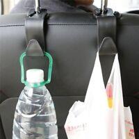 Car Seat Back Headrest Hooks Hanger Holder Hook for Bags Clothes Grocery Bottels