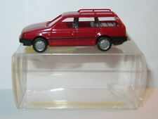 Micro wiking oh 1/87 vw volkswagen passat variant red in box #04213