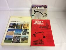 Architecture Book Bundle x3 - Gaudi An Introduction To His Architecture, Story O