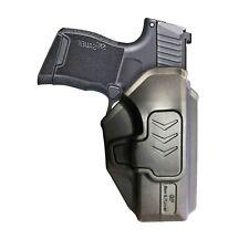 OWB Polymer Open Carry Holster belt clip retention for Sig Sauer P365 pistol.