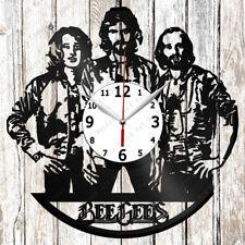 Bee Gees Vinyl Wall Clock Made of Vinyl Record Original gift 2632
