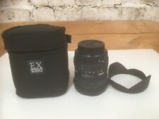 Sigma 10-20 mm 1:4-5:6 DC HSM (Canon Fit) Objectif Grand Angle + Carry Case Excellent