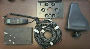 Old Vintage Car Phone Mobile w Accessories and Wires Alcatel 9109 MB/HF P. 1294