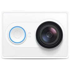 White Original XiaoMi Yi 1080P Ambarella A7 16MP WIFI Sports Mini DV Action Cam