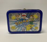 Vintage 1998 Pokemon GOTTA CATCH EM ALL Collectors TIN BOX ~ Made In Korea Rare!