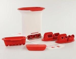 Tupperware M-Press snack press Crousty Party Croquettes Gnocchi (4 inserts)