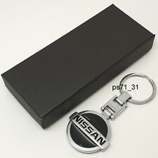 Genuine Nissan Micra Metal Key Ring NGB502