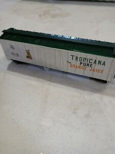 HO LIONEL TROPICANA PURE ORANGE JUICE 50' REEFER TPIX 8742 1977