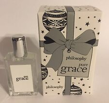 Philosophy Pure Grace Splash Fragrance EDT .33 oz. ~ NEW IN THE BOX