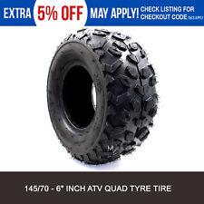 1x 145/70-6 6 inch Front Rear Tyre Tire 50cc 70cc 110cc Quad mini Bike ATV Buggy