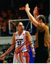 DIANA TAURASI SIGNED 8 x 10 COLOR PHOTO - WNBA PHX MERCURY - UMMC EKATERINBURG