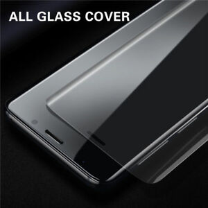 6D Curved Full Tempered Glass Film Screen Protector For Samsung S9 A6 A8 S20 S10