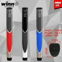 Golf Grip Putter Club Jumbo Size Grips Exclusive Winn Black Red PU Collection