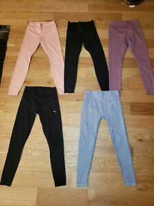 LOT of 5 Nike DRI-FIT Gymshark ZELLA  Tights Womens SMALL RUNNING WORKOUT