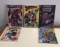Lot x 7 Superman Comics DC Vintage 80s Mignola HIGH GRADE & UNREAD