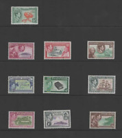 PITCAIRN ISLANDS 1940-51 KGVI SET OF 8 (SG 1/8)  LMM