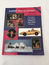 Vintage Barbie Doll Accessories Book 1961 1995 Price Guide Magazine Catalog