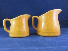 Franciscan Dinner Ware Creamers 5oz. & 20oz. (Harvest) Golden Wheat Pattern (114