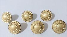 Lot de 6 boutons  Légion Étrangère  - 1,6 cm de diamètre