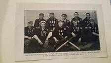 Union National Bank Kansas City Missouri 1906 Baseball Team Picture SP