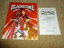 1979 Blackstone Magic Show Program - Harry Blackstone Jr. - Autographed Playbill