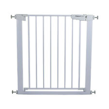 More details for child safety baby pet gate stair divider barrier 76-82cm,4 extensions available