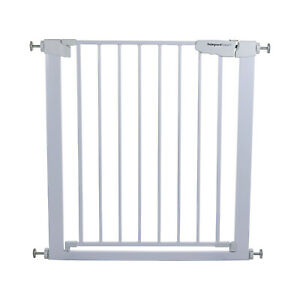Child Safety baby pet Gate Stair Divider Barrier 75-82cm,4 extensions available