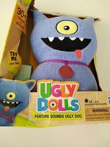 Ugly Dolls Party On Ugly Dog Stuffed Plush Toy new NIB