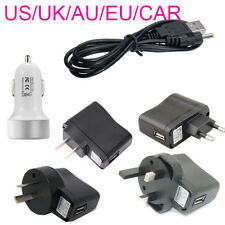 wall car USB to 5V 1A DC 5.5mm x 2.5mm Barrel Connector Power Cable Cord