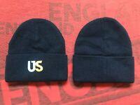 KITH Beanie Hat CAP Logo US Navy  Ronnie Fieg Winter