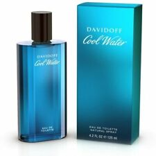 COOL WATER BY DAVIDOFF 4.2 O.Z EDT SPRAY *MEN'S COLOGNE* NEW IN BOX* PERFUME